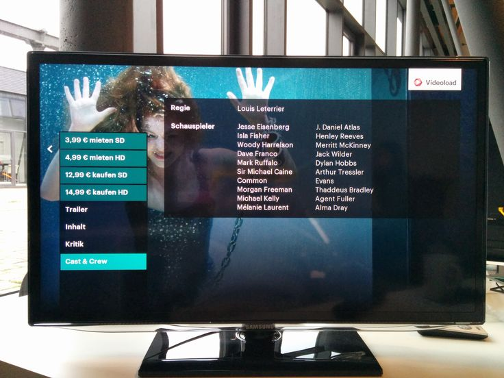 Videoload Samsung TV - Detail Page - Cast and Crew