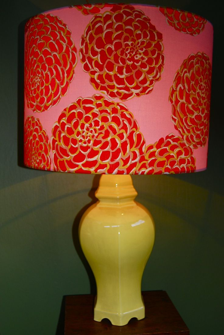My new lamp by yolk interiors