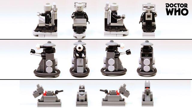 LEGO Ideas - Doctor Who - Classic Tardis Console Room