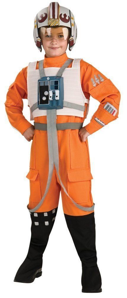 Costumes! Collectable Star Wars Clone Wars Xwing Kids Jedi Fighter Pilot Costume #ICog #CostumeSuit
