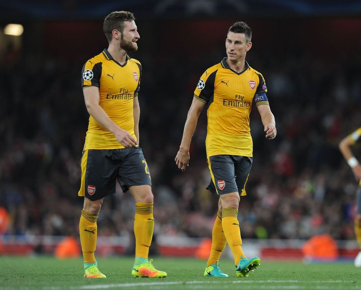 Another clean sheet from these two defenders, Shkodran Mustafi and Laurent Koscielny. Arsenal 2-0 FC Basel (September 2016)