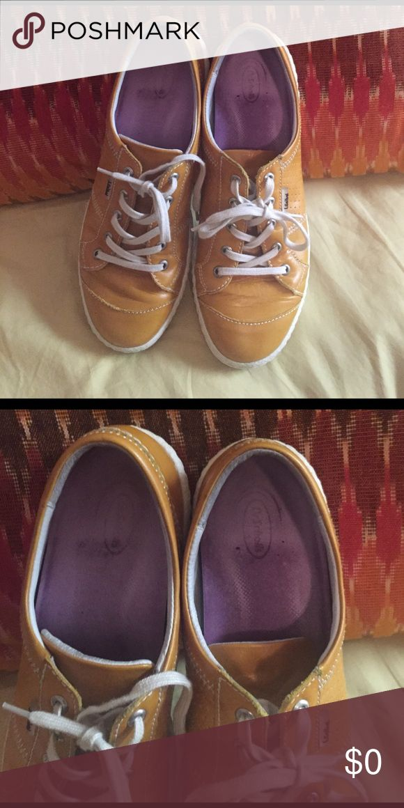 More pics Seibel Yellow Leather Sneaker Sz 9.5 Seibel sneaker Josef Seibel Shoes Sneakers