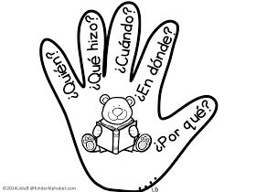 Bilingual Kinder Alphabet: The Five W's