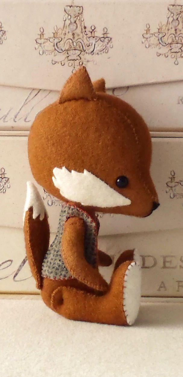 Fox sewing pattern