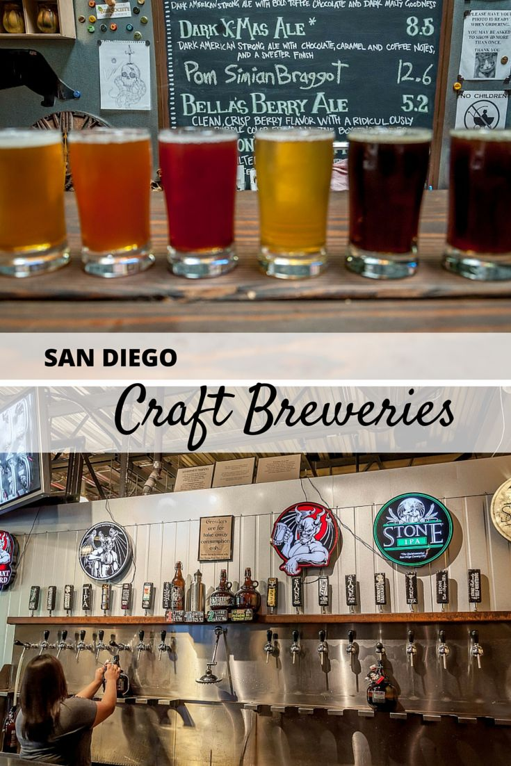 Visiting craft breweries in San Diego, California, is an extremely popular activity. San Diego is the craft beer capital of the United States, so there are many options to choose from.