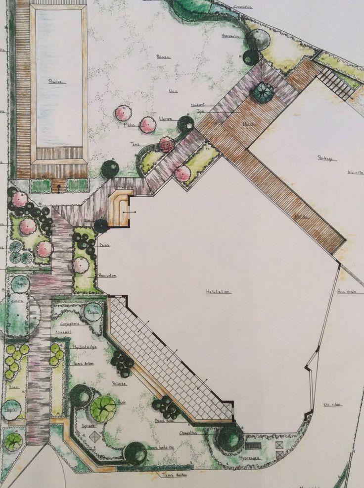 Conception d 39 un petit jardin de ville projets de jardins for B b un jardin en ville brussels