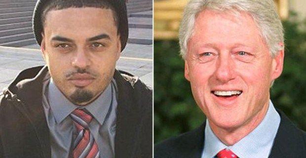 Bill Clinton's 'Black Son' Demands DNA Sample From Monica Lewinsky's Blue Dress