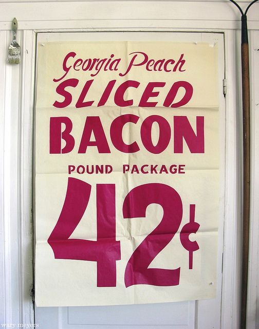 Outdoor- billboards and signs used to get customers