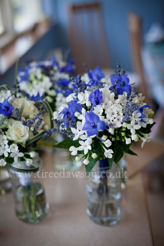 Best ideas about blue wedding flowers on pinterest