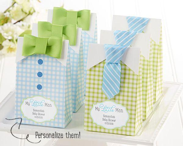 Little Man Baby Shower | blog.kateaspen.com | Baby Shower Favors | blue and green baby shower | kateaspen.com | #littleman #mustache #bowtie