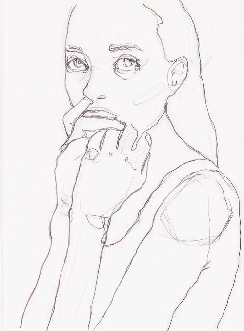 Most Characteristic Of Contour Line Drawing : Les meilleures images du tableau fashion drawing sur