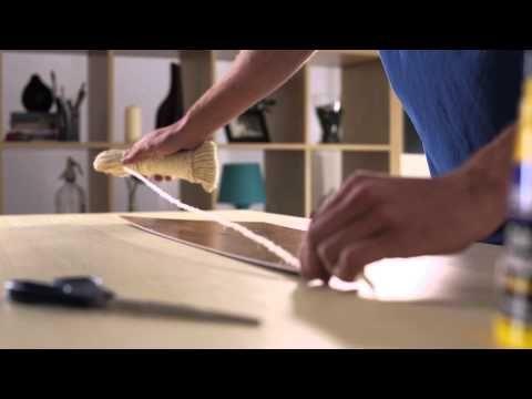 como hacer un marco con cuerda para un espejo pinturas rayma
