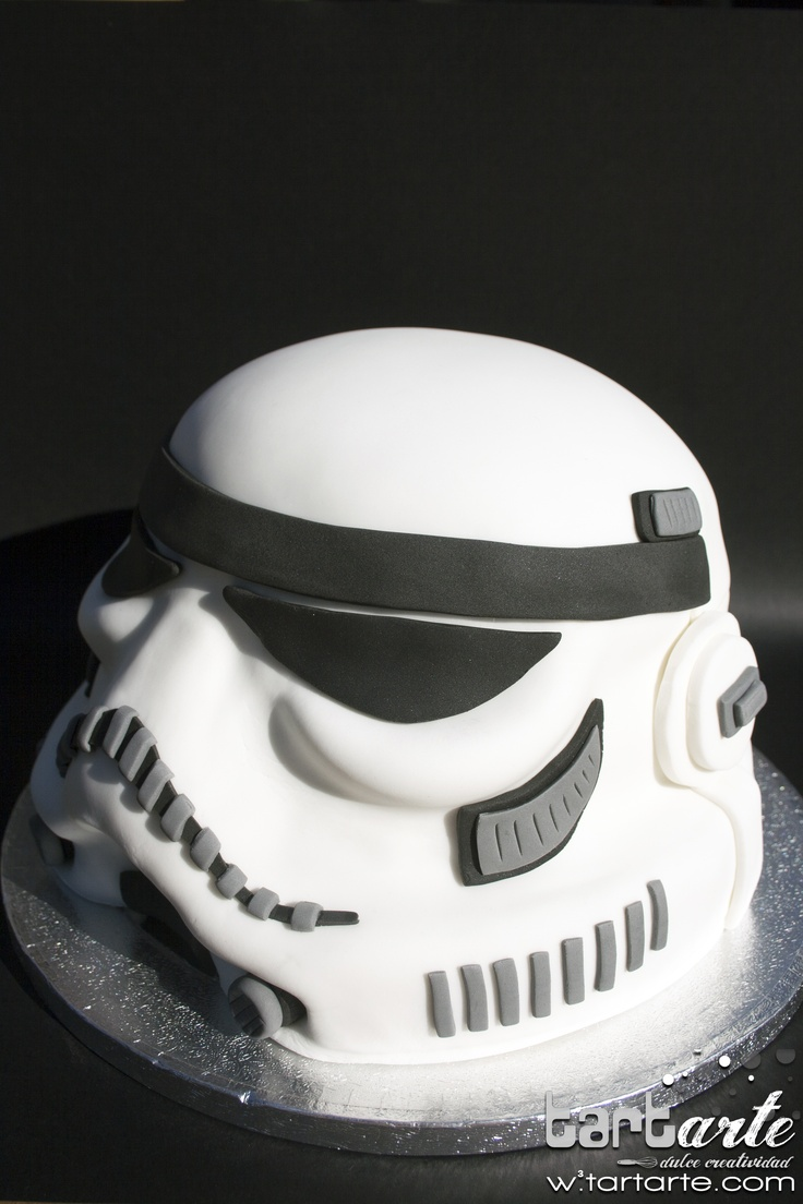 Star Wars Stormtrooper Cake By Www Tartarte Com R 233 Plicas