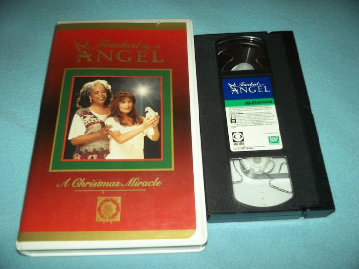 TOUCHED+BY+AN+ANGEL~VHS~A+CHRISTMAS+MIRACLE~ROMA+DOWNEY,+DELLA+REESE,+RANDY+TRAVIS~