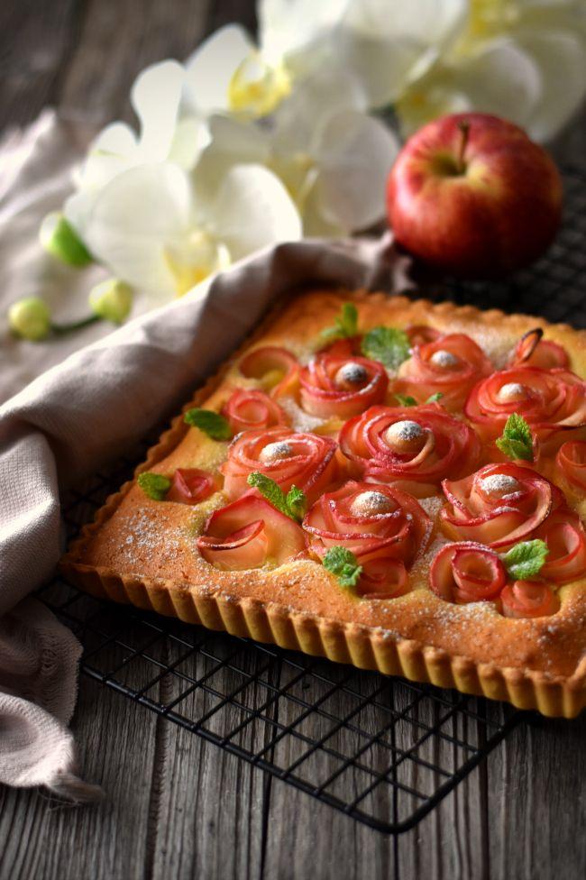 Sweet Gula: Tarte de Rosas de Maçã para o Dia da Mãe