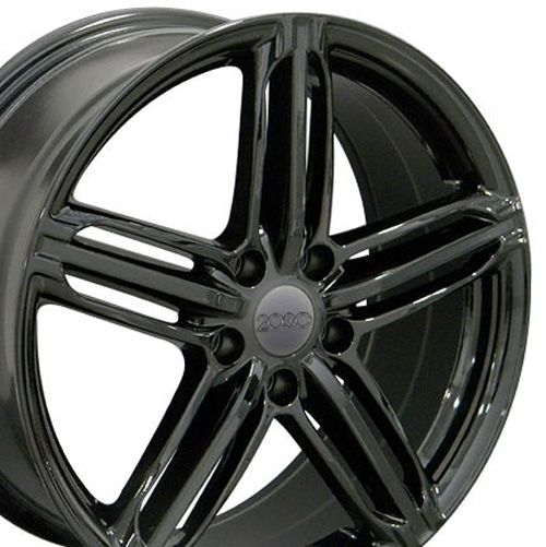 "18"" Fits Audi - RS6 Wheel - Black 18x8UPC# - 8525920"
