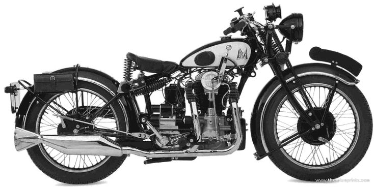 Matchless Silverhawk 1933