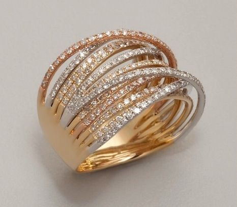 Love multiband rings. But then again, I'm not a small ring type of girl, so clearly I like this style.