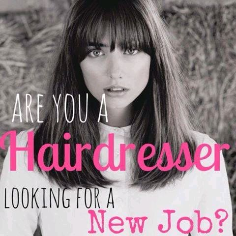 how to get a job at a hairdresser