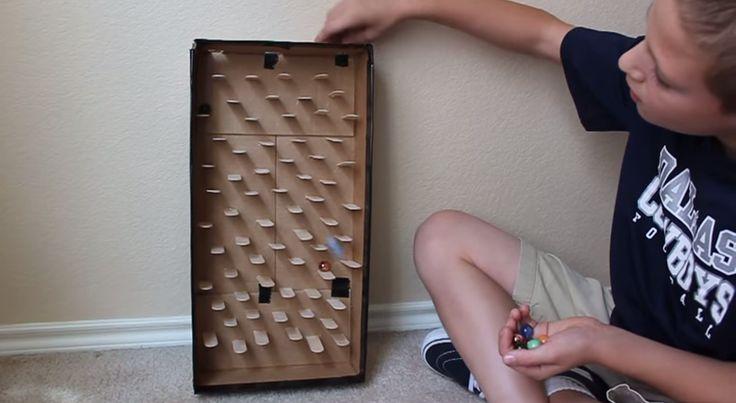 Fabriquer un circuit à billes maison!