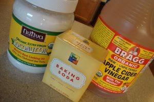 WHAT?! No Shampoo!! Why I Use Coconut Oil, Baking Soda, and Apple Cider Vinegar for Body Care...