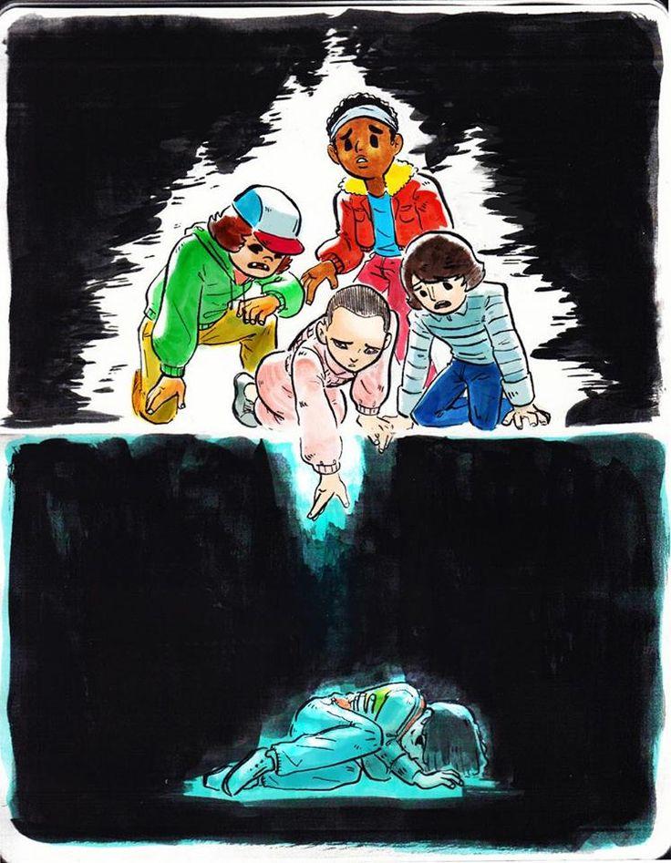 Stranger Things fan art by m-keane