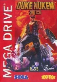 Caixa de Duke Nukem 3D para Mega Drive.