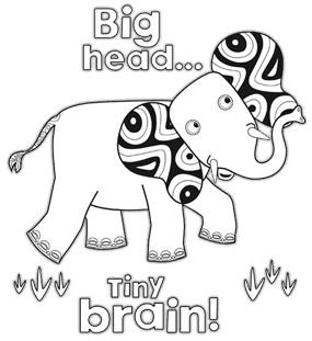 Tinga tinga tales elephant tinga tinga party for Tinga tinga coloring pages