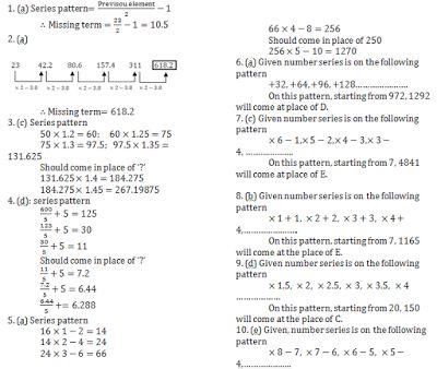 Bankers Adda – IBPS PO, SBI, RRB | Current Affairs | Reasoning Quiz | English | Quant | GK Capsule: IBPS PO Mains: Quant Quiz ( Based On series )