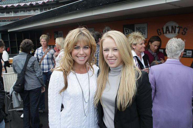 Morgan Pressel and Paula Creamer Photos Photos - LPGA members  Paula Creamer (left) and Morgan Pressel (right) pose for a photo during Juli Inkster's  LPGA Hall Of Fame celebration at AT&T Park on April 5, 2011 in San Francisco, California. - Juli Inkster's Hall of Fame Party