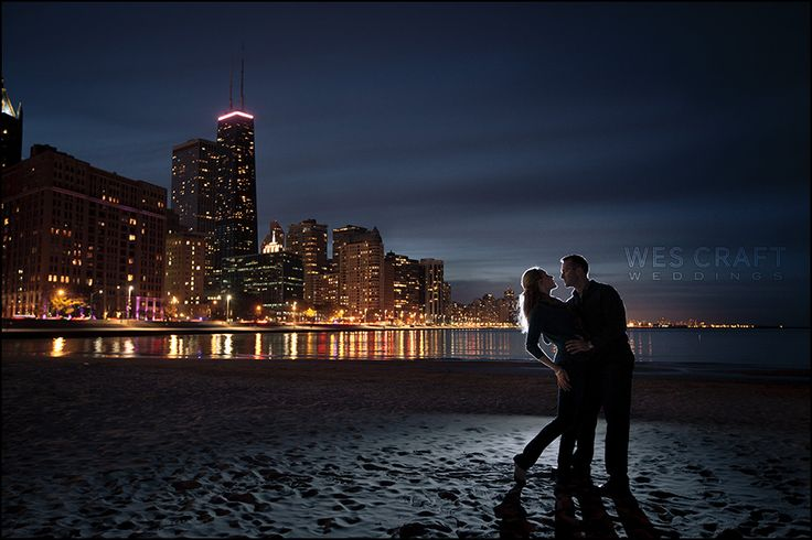 We love shooting after dark.  Why not have your engagement session late night style?