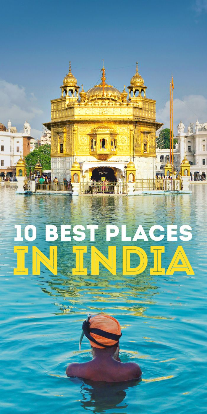 India | Things to do and places to see | Golden Temple in Amritsar | Best Places To Visit In India | via @Just1WayTicket | Photo © somchaisom/Depositphotos