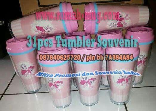 Tumbler Pink hanya ada di www.rumah-mug.com