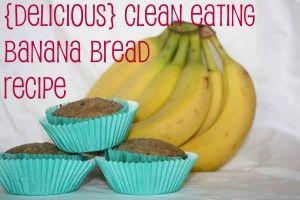{Delicious} Clean Eating Banana Bread Recipe