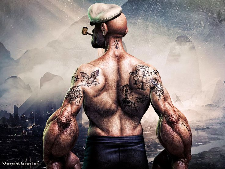 My new Popeye movie poster on Behance