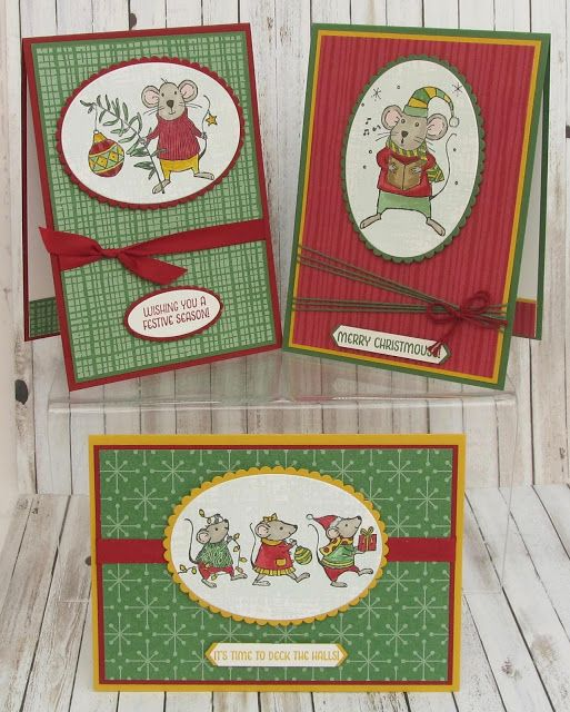 Stampin' Up! UK Demonstrator - Teri Pocock: More ..... Merry Mice
