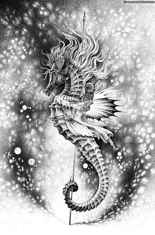 Потрясающие рисунки карандашом и тушью от Marta Sokolowska