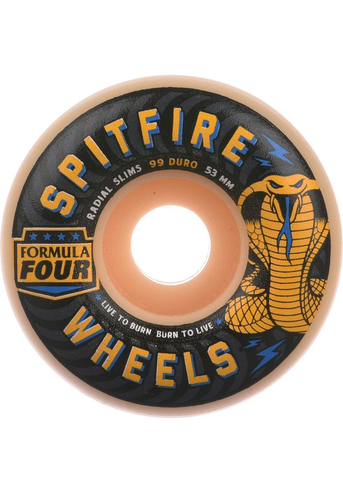Spitfire Formula-Four-Radial-Slim-Speed-Kills-99A - titus-shop.com  #Wheel #Skateboard #titus #titusskateshop