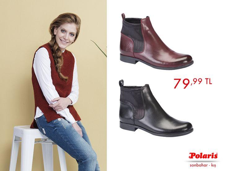 Kısa botların ön planda olduğu bir sezona hazır mısın? Sen de Polaris botların ile haftasonunun tadını çıkar!     #AW1617 #newseason #autumn #winter#sonbahar #kış #yenisezon #fashion#fashionable #style #stylish #polaris#polarisayakkabi #shoe #ayakkabı #shop#shopping #men #womenfashion #trend#moda #ayakkabıaşkı #shoeoftheday