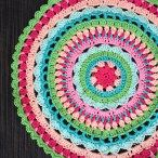 Colorful doily