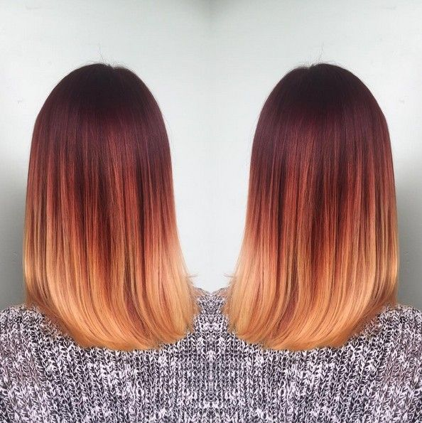 18 eye-catching red ombre hair ideas – Hair