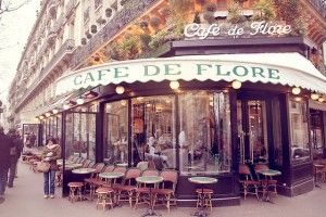 Cafe de Flore - Paris, France