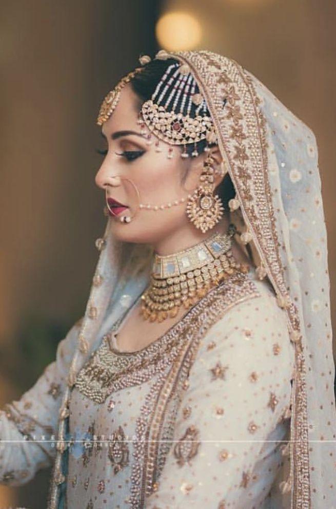 Nikkah Bride Bridal Wear Pakistani Wedding Dresses Pakistani