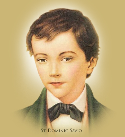 Saint Dominic Savio All Things Catholic Pinterest