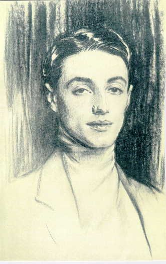 Sir Philip Albert Gustave David Sassoon, 3d Baronet (4 December 1888 - 3 June 1939) by John Singer Sargent
