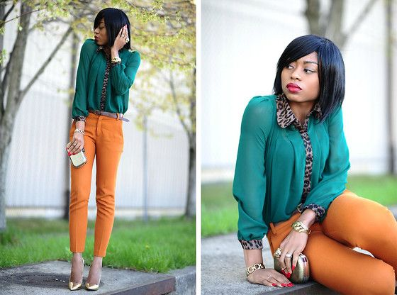 Emerald & Mustard (by J'Adore Fashion)Emeralds, Colors Combos, Color Combos, Style Inspiration, Fashion Forward, Jadore Fashion Com, Work Outfit, J Adorable Fashion, Fashion Fabulous