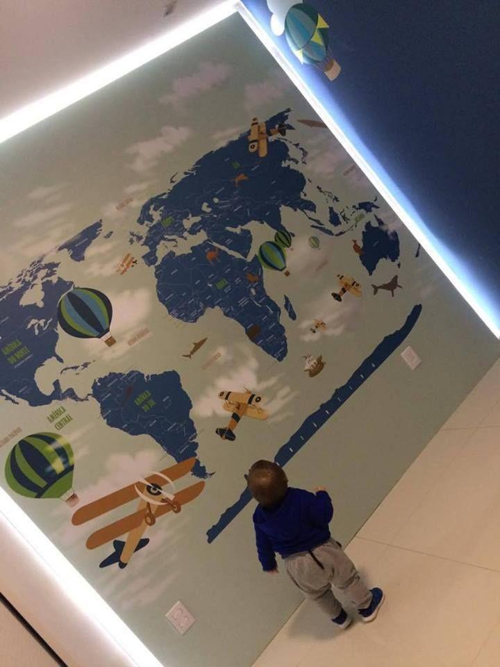 25 melhores ideias sobre papel de parede mapa mundi no - Papel pared mapa mundi ...