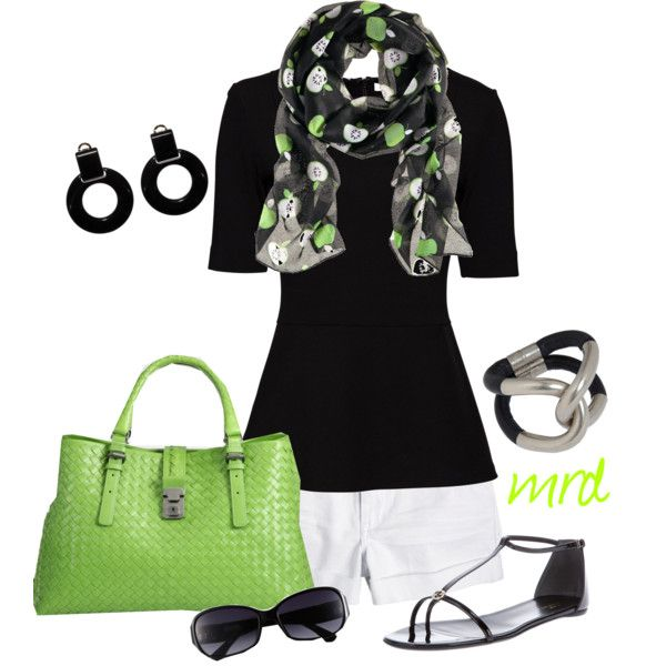 Pops of Lime Green :): Green Bag, Clothing Style, Green Purses, Limes Green, Apples, Clothing Outfits, Casual Outfits, Stylish Clothesoutfit, Bags