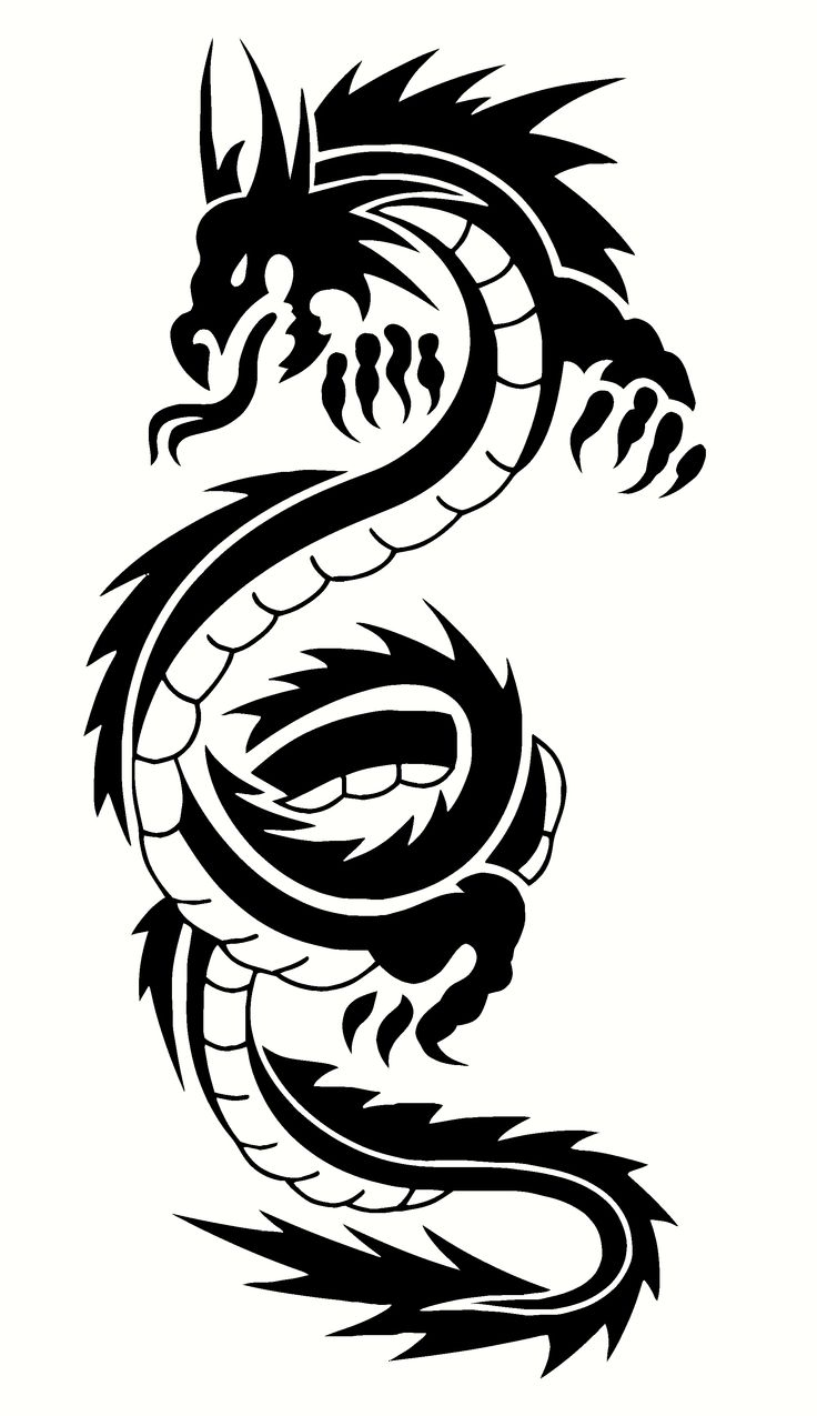 Chinese Dragon Tattoo Design Idea... i would love this tattoo... like on my upper back or something... maybe thigh? arm? idk but i want it