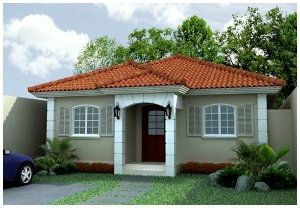 fachadas de casas sencillas y bonitas Fachada de casa, Casas